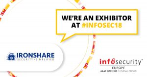 We're an exhibitor at Infosec18
